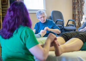 Massage Therapy Workshop Class Reflexology