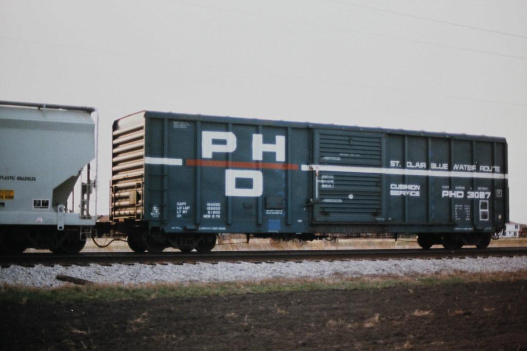 Boxcar, Port Huron & Detroit