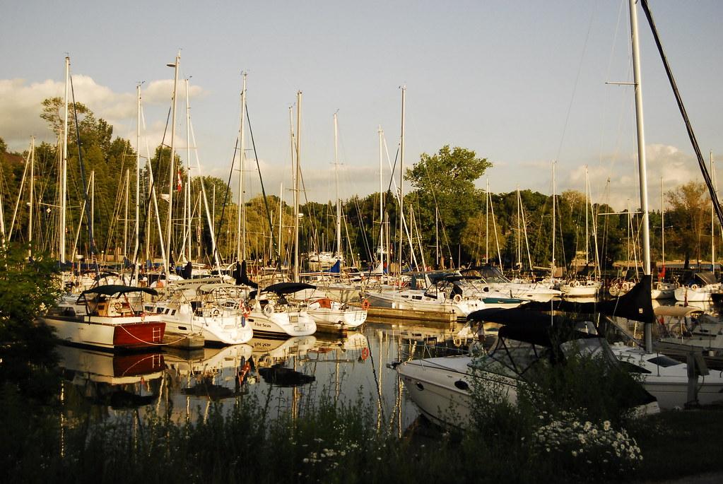 Summer evening in Bayfield # 2