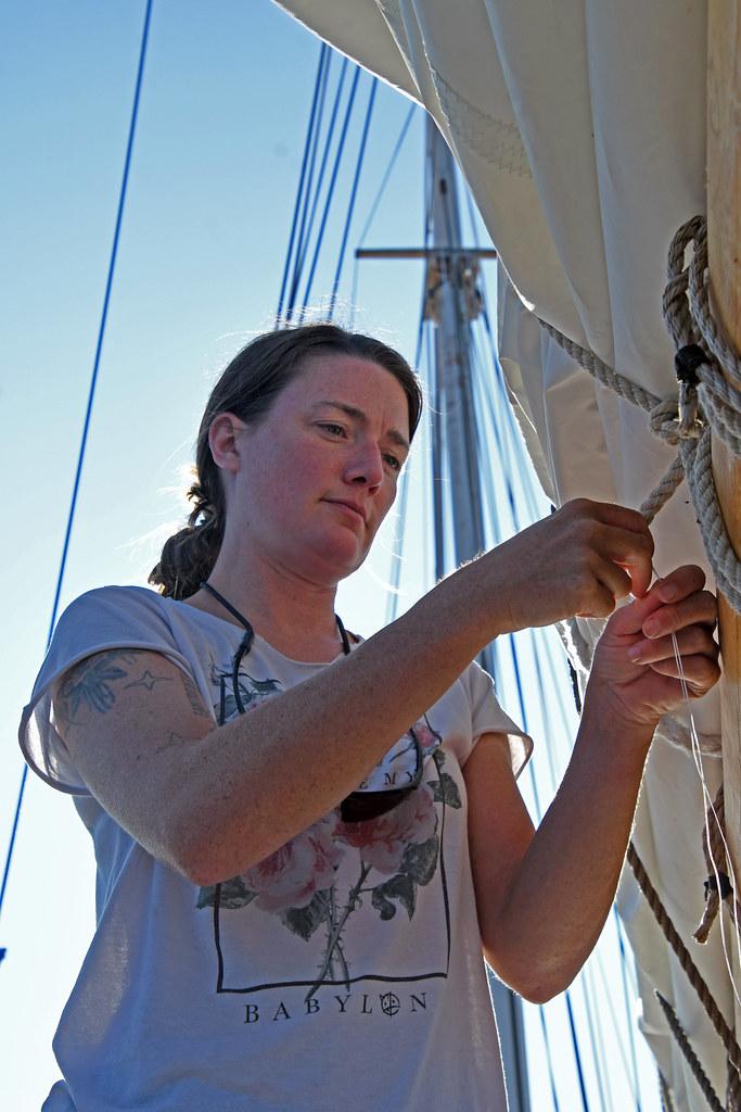 Aboard the Schooner Huron Jewel