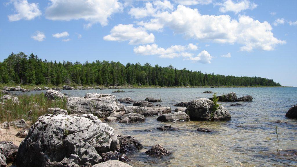 File:Lake Huron from Upper Peninsula.JPG
